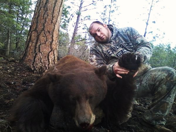 California Bear Hunting Guides Success